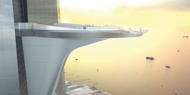 The Kingdom Tower will have the world's tallest observatory, which was first envisioned as a heliport.