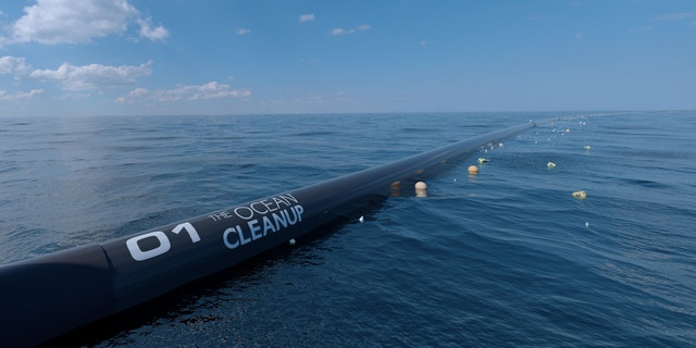 The Ocean Cleanup performed hundreds of scale model tests over the years to ensure the vessel would be able to handle rough currents.