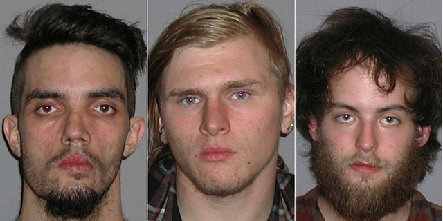 Douglas Wright, Brandon Baxter and Connor Stevens all admitted their roles Wednesday in a plot to bomb an Ohio highway bridge.