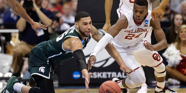 Denzel Valentine helped Michigan State to a Big Ten title in 2016.