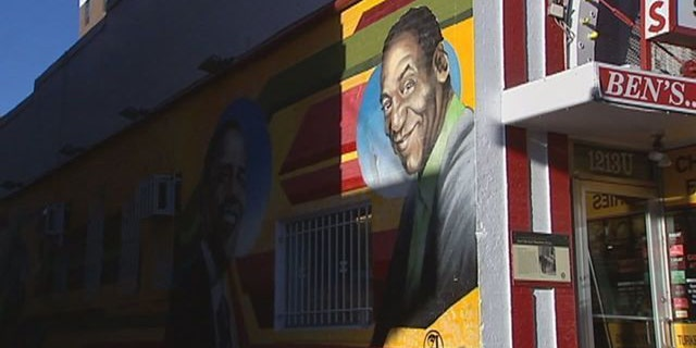 The old mural outside Ben's Chili in Washington, D.C.