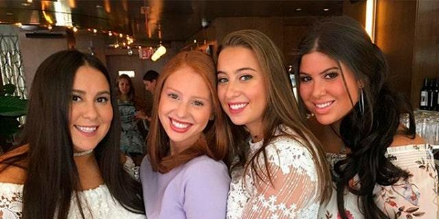 From l-r: Claudia Oshry Soffer, Jackie Oshry, Margo Oshry and Olivia Oshry.