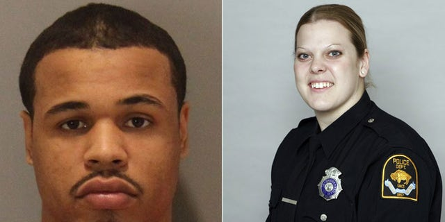 Wheeler, (l.), was killed in the shootout that left new mom and Omaha police officer Kerrie Orozco dead.