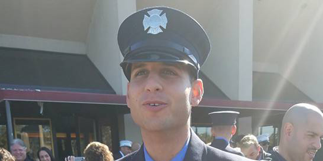 """Rookie firefighter Omar Ahmed Sattar, 30, is the eldest son of Ahmed Abdel Sattar, who was convicted in 2005 of """"soliciting crimes of violence"""" and conspiracy to murder Jews."""