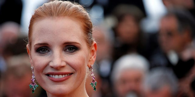 Chastain delivered a passionate speech on Monday amid the the fallout of the Harvey Weinstein sex scandal.