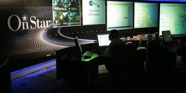 In this Feb. 6, 2006, file photo, the General Motors OnStar command center is shown in Detroit.