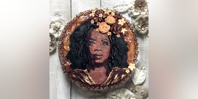 "Clark-Bojin announced the ""Pietrait"" series -- which this Oprah pie is part of -- as a way to celebrate National Pie Day, which falls January 23."