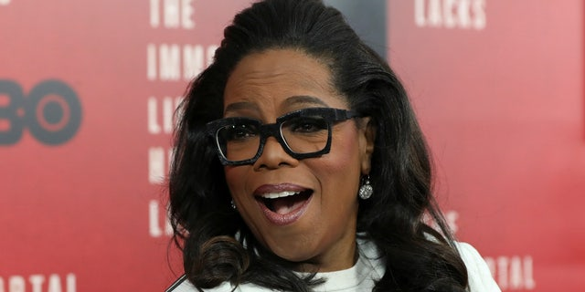 Oprah Winfrey's home in Montecito, Calif. is under threat of being torched by wildfires.
