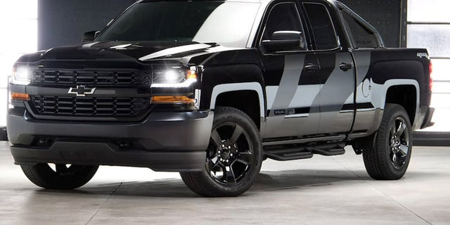 Sales of the Chevy Silverado Special Ops edition helped support the Naval SEAL Museum's Trident House Charities Program.