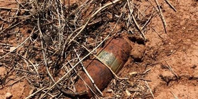 A World War II-era live ammunition round was found near the U.S.-Mexico border fence in Arizona.