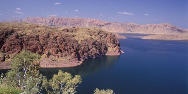 0-29774 Western Australia scenes Ord river and Lake Argyle