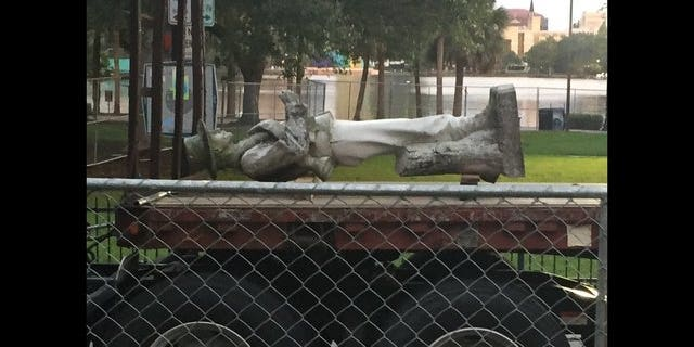 "The City of Orlando is moving ""Johnny Reb"" from a park to a cemetery."
