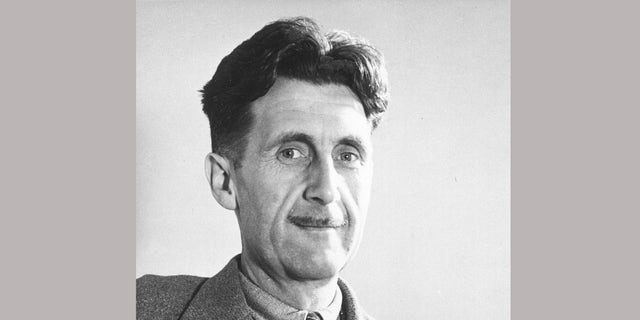 """Author George Orwell, author of the classic dystopian tale """"1984."""""""