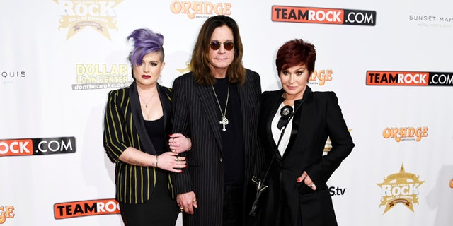 Kelly Osbourne says her parents, Ozzy and Sharon are still together.