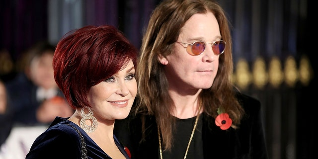 Ozzy and Sharon Osbourne attend the Pride Of Britain Awards at Grosvenor House, on October 30, 2017, in London, England. (Photo by Mike Marsland/Mike Marsland/WireImage)