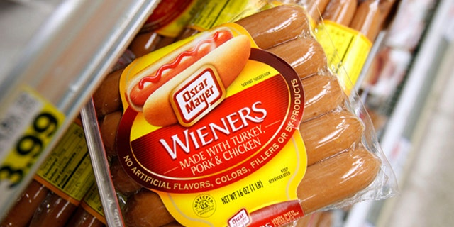 Kraft Foods is recalling 96,000 pounds of its Oscar Mayer wieners because they may mistakenly contain cheese.