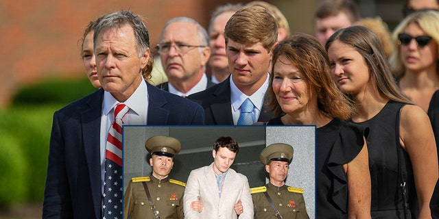 Fred and Cindy Warmbier — Otto Warmbier's parents— have filed a explain for a seized North Korean load boat to prove partial of their $500 million visualisation opposite a North Korean regime over a genocide of their son.br data-cke-eol=1