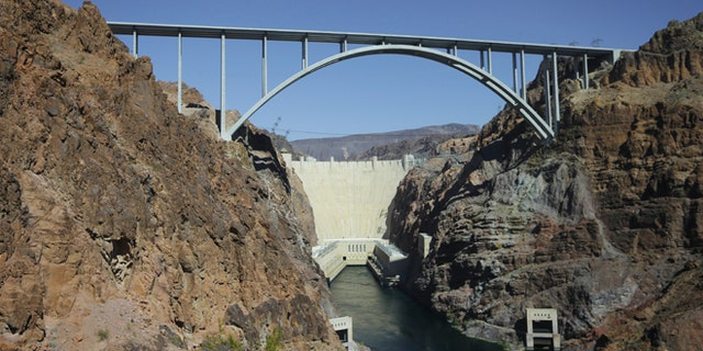 The Hoover Dam in 2012.
