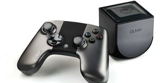 The OUYA, a $99 gaming console that aims to disrupt the video game market.