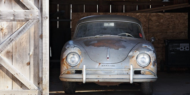 Parked in 1973 after failing inspection, this 1957 Porsche 356A 1500 GS Carrera Coupe is set to sell for $700,000