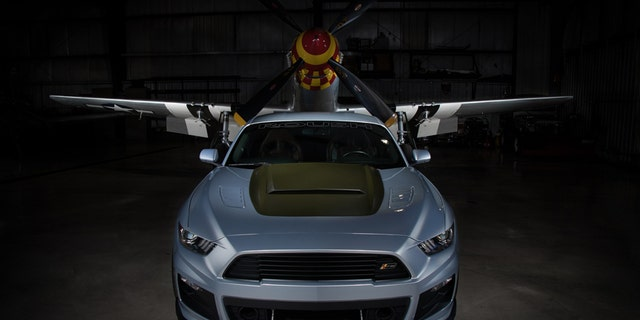 Roush P 51 Ford Mustang Is Ready For A Dogfight With A Hellcat Fox