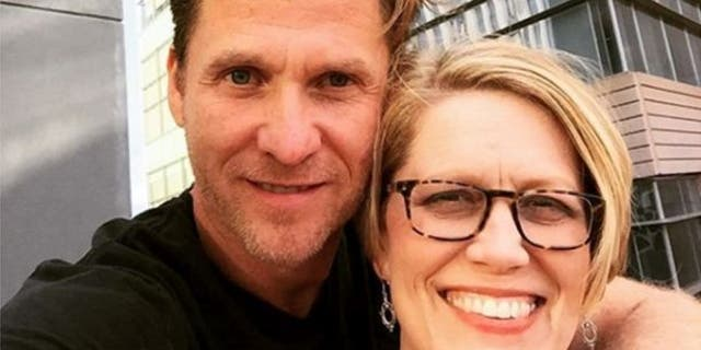 Mark Gerardot and his wife, Jennair.