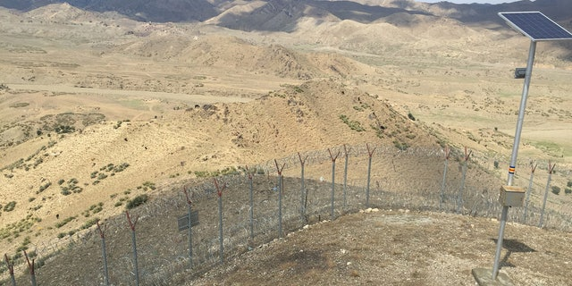 Pakistan authorities are fencing the border with Afghanistan in an attempt to control undocumented crossing between the two countries