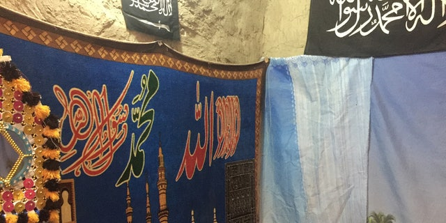 """The """"Paradise room"""" used by militants in North Waziristan to indoctrinate young recruits."""