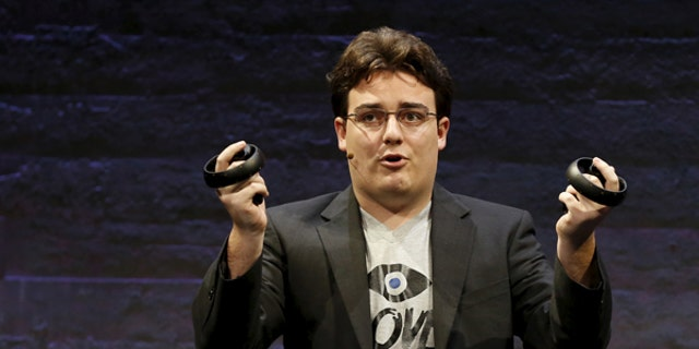 Oculus VR co-founder Palmer Luckey is focusing his efforts on a startup that aims to develop a virtual wall for the border and military bases.