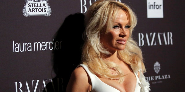 Pamela Anderson previously said she tries to avoid family drama.
