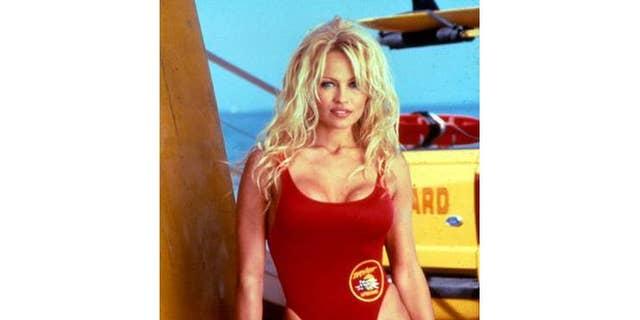 Pamela Anderson in 'Baywatch.'