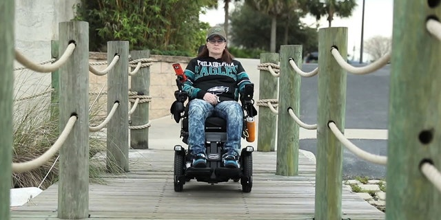 In 2015, Pam Kelly found new hope with the group Villagers for Veterans in Sumter County, Florida. The mission of the nonprofit organization is to provide severely injured veterans with tools and services to improve their mobility and independence, and their overall quality of life.