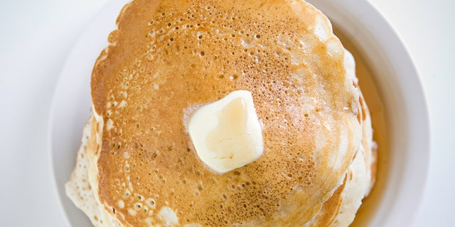 """Pouring seltzer into pancake batter infuses it with tiny bubbles of air, and produces a """"noticeably more fluffy"""" pancake, according to taste-testers."""