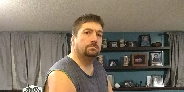 Goodall says his wake-up call came in 2017, when he was rushed to the hospital with breathing issues. Changing his exercise and diet, he was able to shed over 300 pounds.