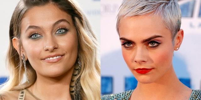 """Gringo"" star Paris Jackson and model Cara Delevigne have reportedly become an item."