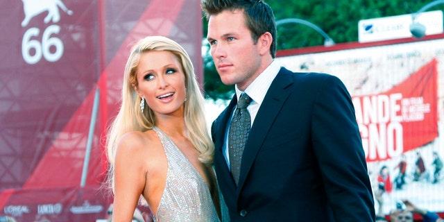 Doug Reinhardt previously dated Paris Hilton.