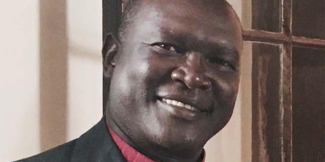 The Rev. Andudu Adam Elnail, bishop of Kadugli Diocese.