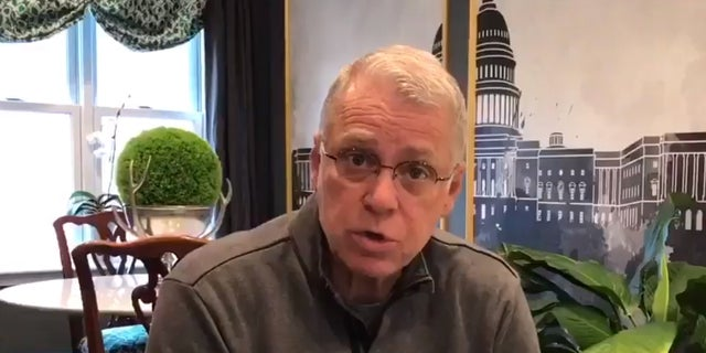 Pastor Mike Hayes giving a disaster relief update on Twitter in the aftermath of Hurricane Harvey.