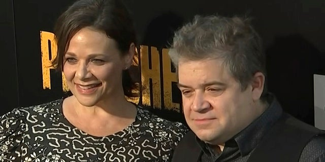 Patton Oswalt announced his engagement to actress Meredith Salenger last week and responded to critics who said the comedian has moved on too quick following his wife's death in April 2016.