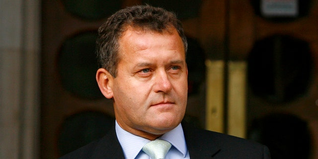 "Paul Burrell, Princess Diana's former butler, was ""turned away"" by security at Saturday's royal wedding."