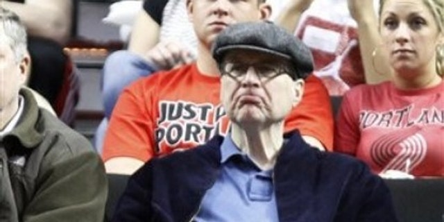Microsoft co-founder and Portland Trail Blazers owner Paul Allen.