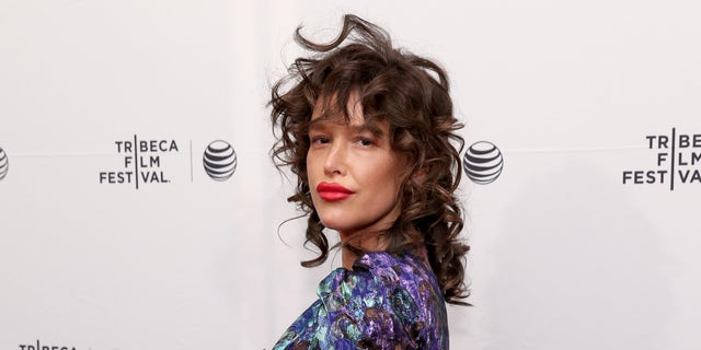 "Paz de la Huerta attends the premiere of ""Bare"" during the 2015 Tribeca Film Festival on April 19, 2015, in New York City."
