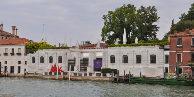 VENICE, ITALY - AUGUST 19, 2014: The Peggy Guggenheim collection in Venice Italy