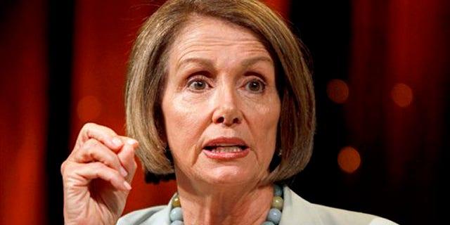 In this July 24 file photo, House Speaker Nancy Pelosi speaks in Las Vegas on July 24. (AP Photo)