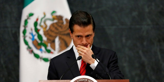 Mexico's President Enrique Pena Nieto insists Mexico won't pay for the wall.