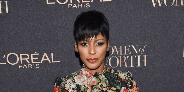 """FILE - This Nov. 16, 2016 file photo shows NBC """"Today"""" host Tamron Hall at the 2016 L'Oreal Women of Worth Awards in New York."""