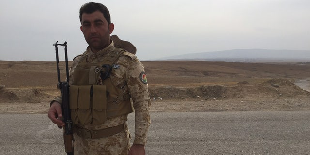 Peshmerga forces in the fight against ISIS