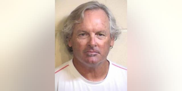 """Peter Samhammer, 64, was arrested by police after he allegedly choked students with a jump rope as a form of """"discipline."""""""