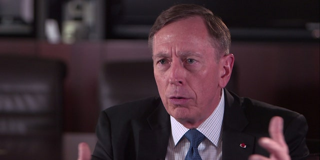 During the hour-long interview, General David Petraeus said that more needs to be done to help veterans who claim they have gotten sick from burn pit exposure.