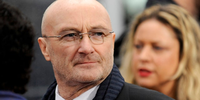 Legendary British singer Phil Collins said he first fell in love with the Alamo's story as a child.